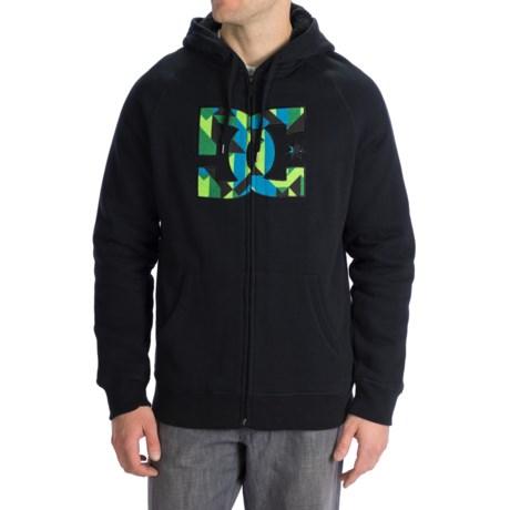 DC Shoes RD Herm ZH Hoodie Sweatshirt - Sherpa Lined, Full Zip (For Men)