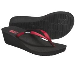 Teva Ribbon Mush® Wedge Sandals (For Women)