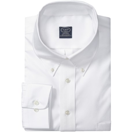 Specially made Button-Down Dress Shirt - Long Sleeve (For Tall Men)