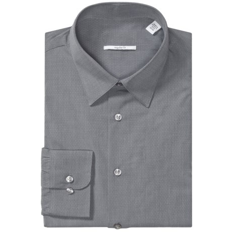 Specially made Point Collar Dress Shirt - Long Sleeve (For Men)