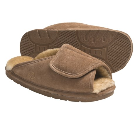 Lamo Wrap Slippers - Suede, Sheepskin-Lined (For Men)