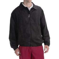 Smith & Tweed Microsuede Jacket - Full Zip (For Men)