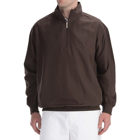 Smith & Tweed Tournament Lightweight Wind Jacket - Zip Neck (For Men)
