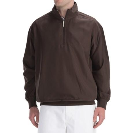 Smith & Tweed Tournament Lightweight Wind Jacket - Zip Neck (For Men)