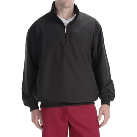 Smith & Tweed Superlight Microfiber Wind Jacket - Zip Neck (For Men)