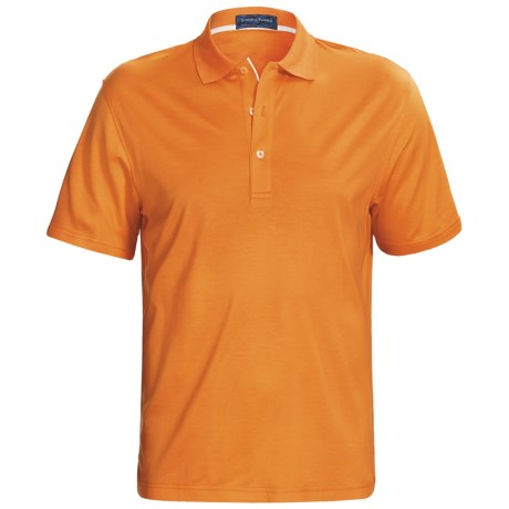 Smith & Tweed TENCEL®-Supima® Cotton Polo Shirt - Short Sleeve (For Men)