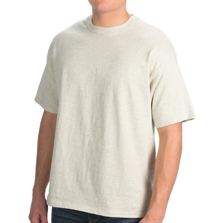 Champion Tagless T-Shirt - Cotton, Short Sleeve (For Men and Women)