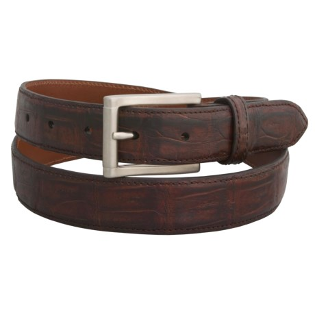 Tardini Caiman Crocodile Belt (For Men)