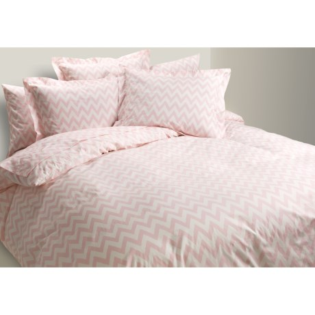Bay & Gable Home Interiors Duvet Cover - Full/Queen, Ring-Spun Organic Cotton, 300 TC