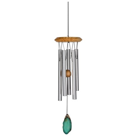Woodstock Chimes Agate Accent Percussion Wind Chime - 18.5""
