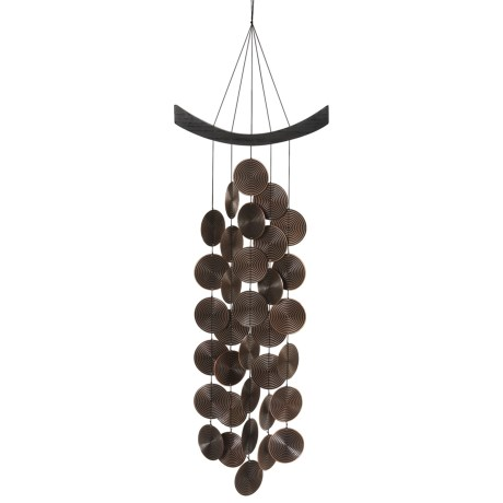 Woodstock Chimes Spiral Waves Percussion Wind Chime - 18.5""