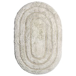 "Espalma Oval Cotton Rug - Ring Frame, 20x30"""