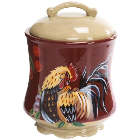 Zrike Rooster Canister