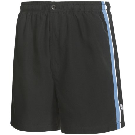 Nat Nast Racing Stripe Swim Trunks (For Men)