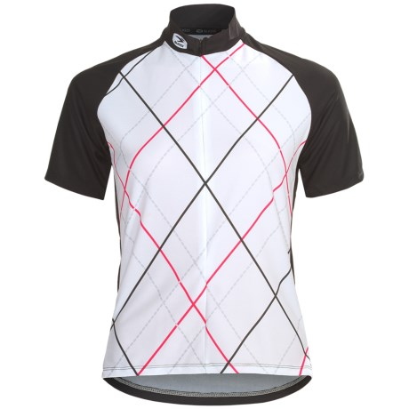 Sugoi Roxie Cycling Jersey - Zip Neck, Short Sleeve (For Women)