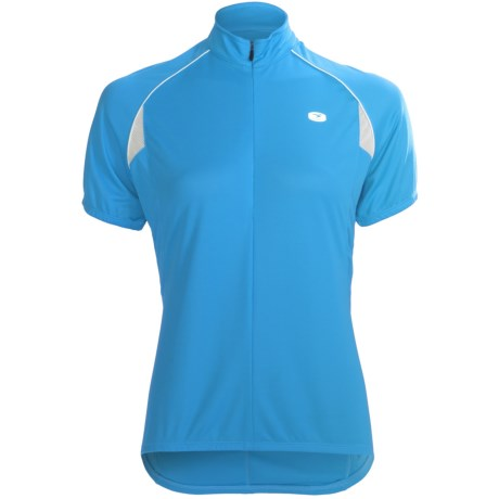 Sugoi Neo Cycling Jersey - Zip Neck, Short Sleeve (For Women)