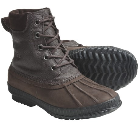 Sorel Cheyanne Waxed Canvas Pac Boots - Waterproof, Insulated, Lace-Ups (For Men)