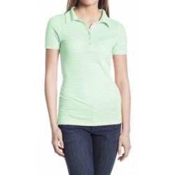 Agave Nectar Cruise Polo Shirt - Pique Cotton Blend, Short Sleeve (For Women)