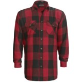 Canyon Guide Brawny Flannel Shirt - Long Sleeve (For Tall Men)