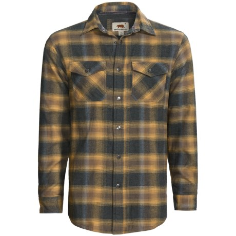 Dakota Grizzly Archer Flannel Shirt - Waffle Knit Lining, Long Sleeve (For Men)