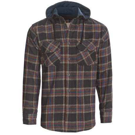 Dakota Grizzly Edison Flannel Hoodie (For Men)