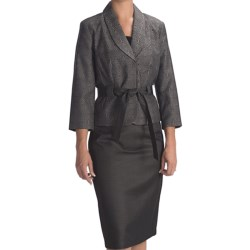 Isabella Skirt Suit - 3/4 Sleeve (For Women)