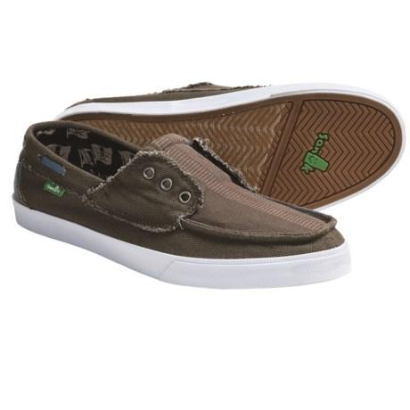 Sanuk Scurvy Canvas Boat Shoes (For Men)