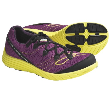 Brooks Green Silence Running Shoes - Minimalist (For Women)