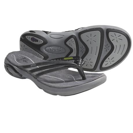 Ahnu Olema Sandals - Leather, Flip-Flops (For Women)
