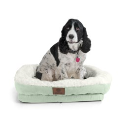"AKC Orthopedic Box Snuggle Dog Bed - 6x30x32"", Large"