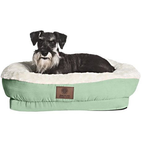 AKC Orthopedic Box Snuggle Dog Bed - Medium