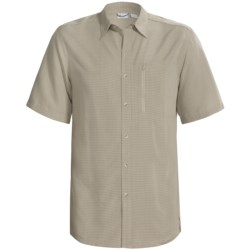 White Sierra Sandpiper Shirt - UPF 30, Short Sleeve (For Men)
