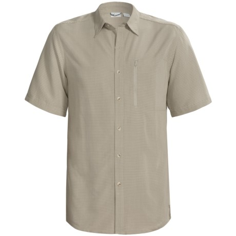 White Sierra Sandpiper Shirt - UPF 30, Short Sleeve (For Men)