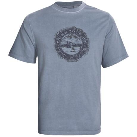 White Sierra Think Outside Graphic T-Shirt - Cotton-Modal, Short Sleeve (For Men)