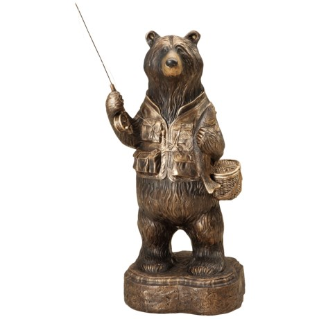 Big Sky Carvers Fisher Bear Sculpture