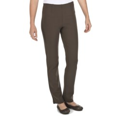 Joan Vass Heavyweight Ponte Knit Pants - Bootcut (For Women)