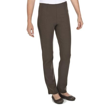 Joan Vass Heavyweight Ponte Knit Pants - Bootcut (For Women)