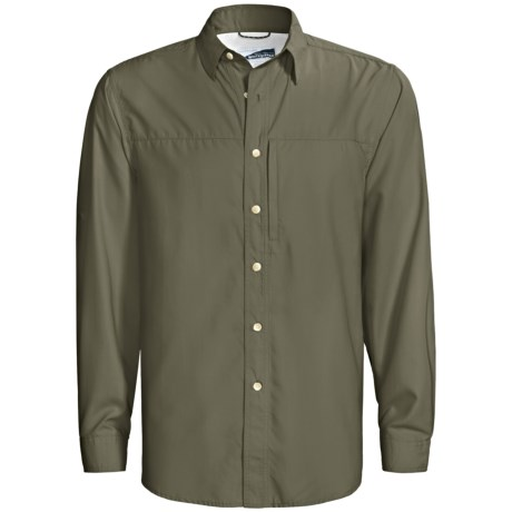 White Sierra Swamp Ripstop Shirt - UPF 30, Insect Shield®, Long Sleeve (For Men)