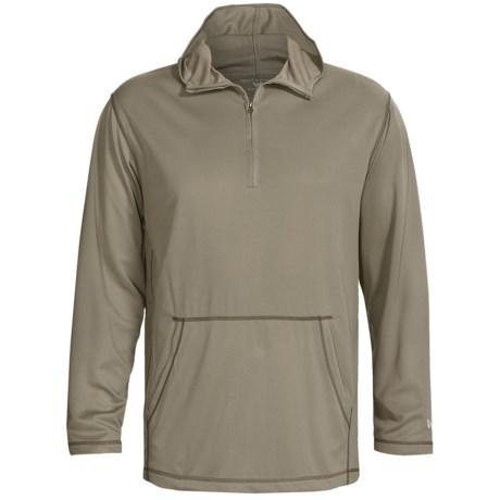 White Sierra Swamp Hoodie Sweatshirt - UPF 30, Zip Neck, Insect Shield® (For Men)