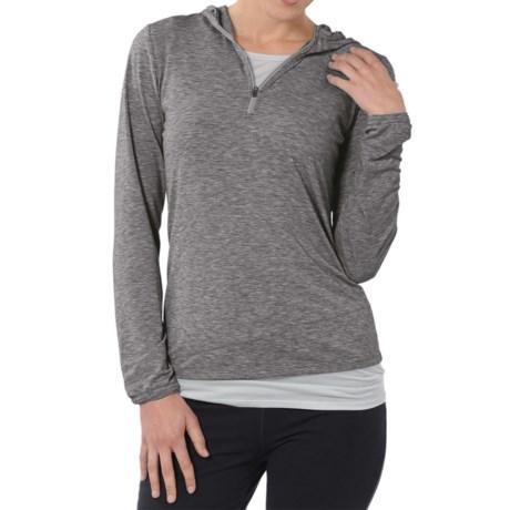 Horny Toad Swifty Hoodie Sweatshirt - Dri-Release®, TENCEL®, Zip Neck (For Women)
