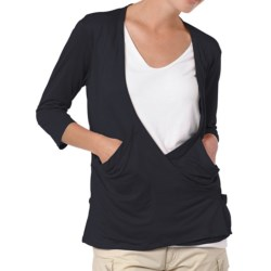 Horny Toad Electra Deep-V Crossover Cardigan Sweater (For Women)