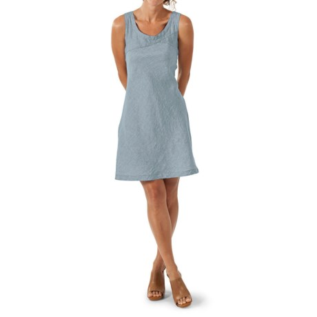Horny Toad Sheath Dress - Linen Chambray, Sleeveless (For Women)
