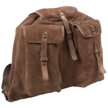 Handmade Maremmano Norica Leather Backpack