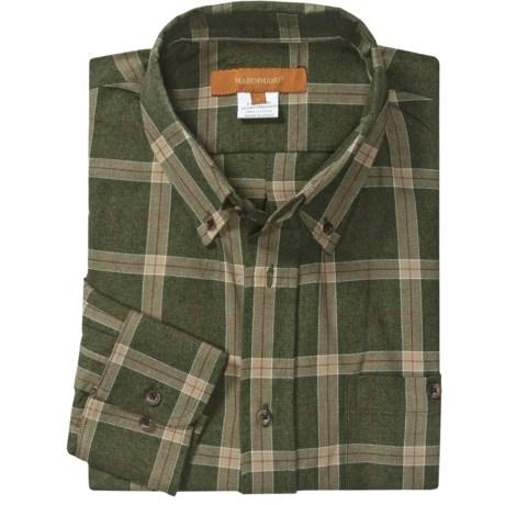 Handmade Maremmano Sport Shirt - Italian Cotton, Long Sleeve (For Men)