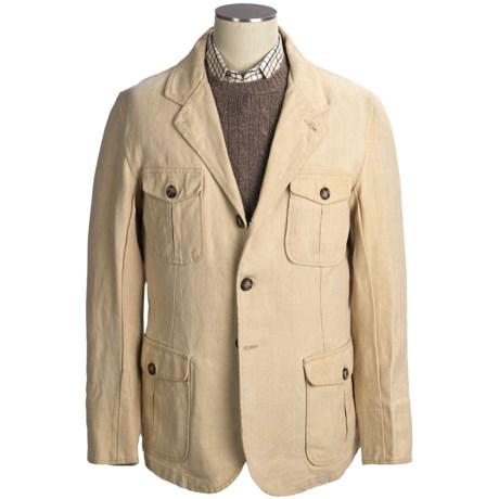 Handmade Maremmano Naples Coat - Linen (For Men)