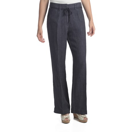 Two Star Dog Milan Convertible Pants - Linen (For Women)