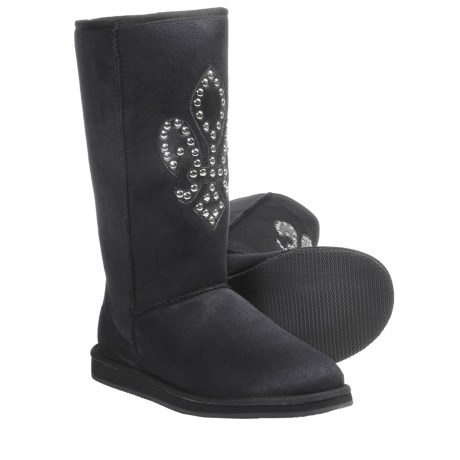 Aussie Dogs Fleur Boots - Shearling-Lined (For Women)