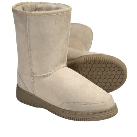 Aussie Dogs Bonzer Twin Sheepskin Boots (For Men and Women)