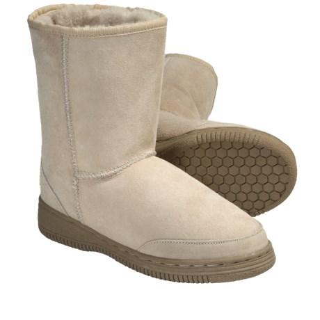 Aussie Dogs Bonzer Twin Sheepskin Boots (For Men and Women)