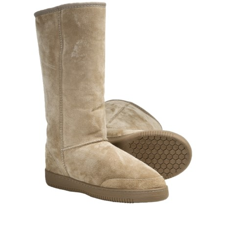 Aussie Dogs Sno Sole Sheepskin Boots (For Men and Women)